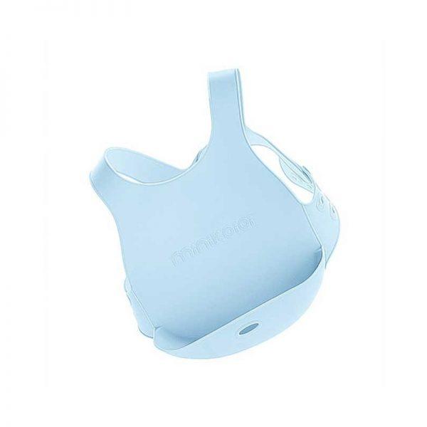 Minikoioi - Babete Flexi-bib - Azul