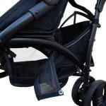 Nikidom – Carrinho passeio Dual Drive – Jet Black