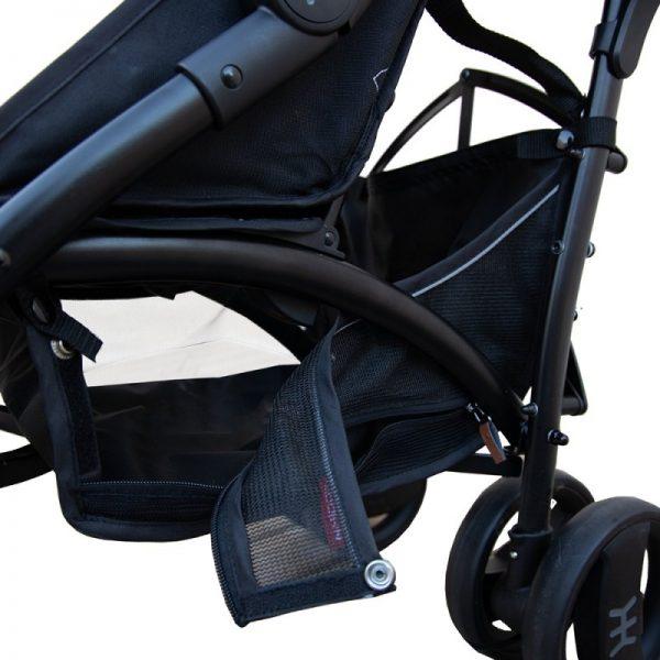 Nikidom - Carrinho passeio Dual Drive - Jet Black